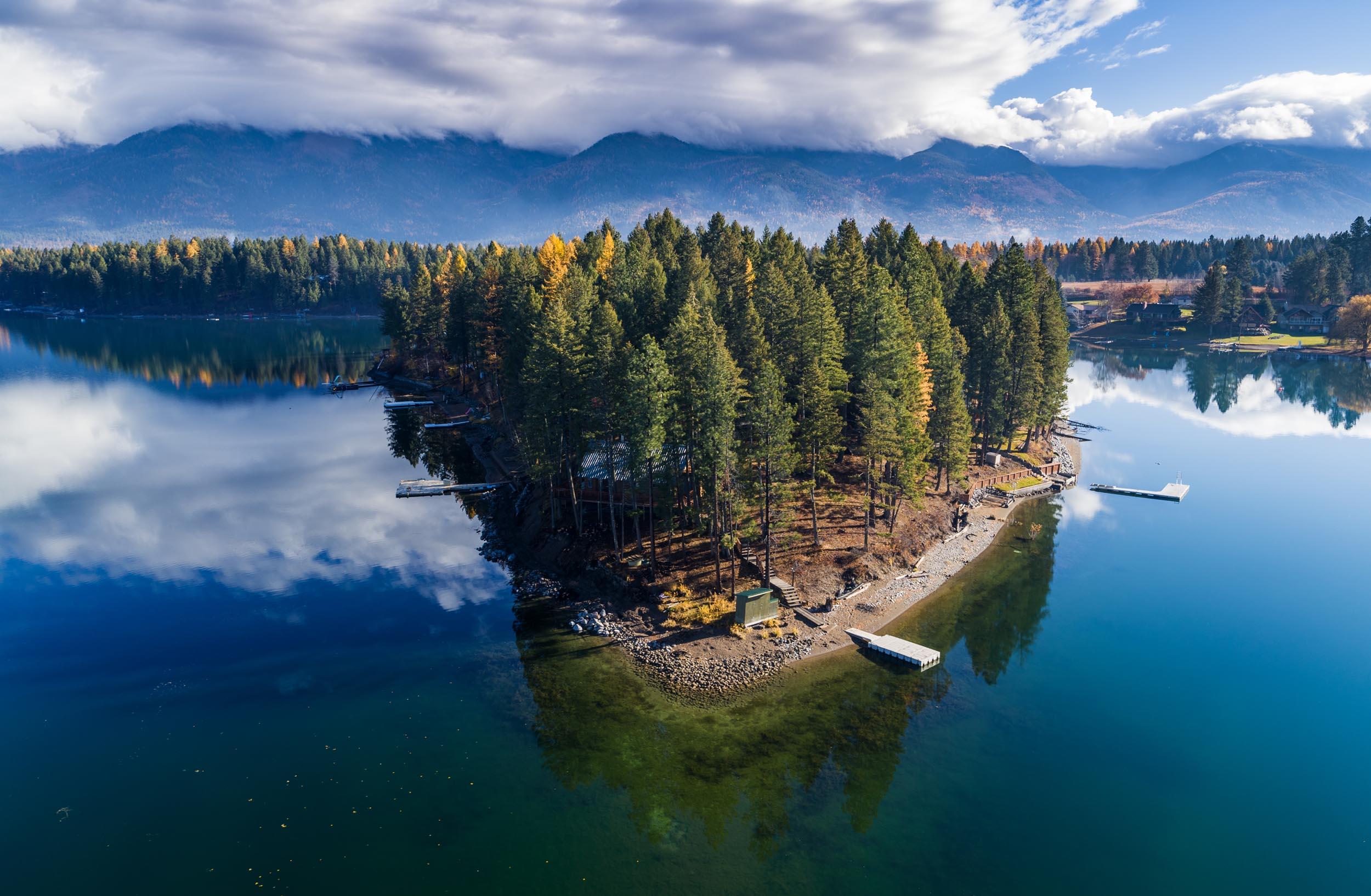 Deer Island, Echo Lake