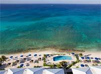 Grand Cayman Island Winter Aerial