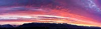 Sunrise Flathead Valley Winter Sunrise