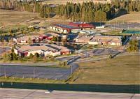 Flathead Valley Community College Kalispell, MT Spring Aerial