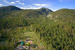 Woods Bay Spring Aerial