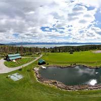 Amen Ranch Lakeside, MT Spring Panoramic360