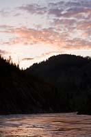 Middle Fork Spring Sunset