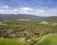 Farm to Market Rd Summer Aerial