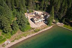 Flathead Lake Summer Aerial