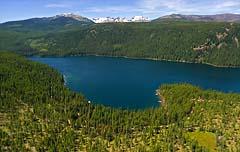 Lindberg Lake Lindberg Lake Summer Aerial