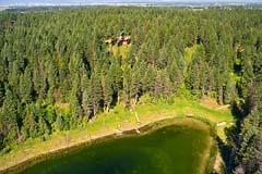 BigFork, MT Summer Aerial