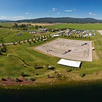 The Event at Rebecca Farm Kalispell, MT Summer Panoramic360