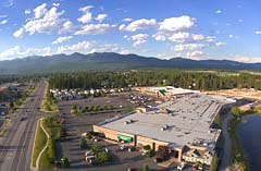 Mountain Mall Whitefish, MT Summer Aerial