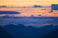 Crazy cloud sunset over Bad Rock Canyon Bad Rock Canyon Summer Sunset