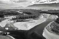 Flathead River Flathead River Fall Aerial