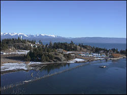 Somer's MT at the tip of Flathead Lake