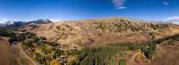 Livingston, MT Fall Aerial