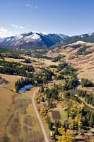 Boulder Dr. Livingston, MT Fall Aerial
