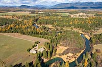 Whitefish River Fall Aerial