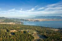 Flathead Lake Fall Aerial