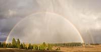 Rainbow in the Fall Hodgson Road Fall Rainbow