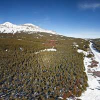 Maria's Pass Panoramic East Glacier Winter Panoramic360
