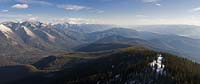 Great Northern Mountain Fall Aerial