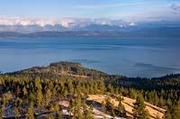 Lakeside, MT Fall Aerial