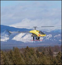 Joker CX Whitefish, MT Winter Aerial