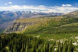 Glacier Park Fall Landscape