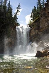 Glacier Park Spring Water Falls