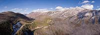 North Fork Flathead Fall Aerial