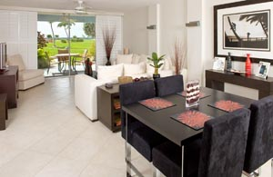 Silver Sands Condo Living Room