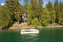 2466 Birch Glen Rd - Whitefish Lake Whitefish Lake, MT Spring Aerial