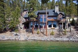 3614 W Lake Shore, Whitefish Lake Whitefish Lake, MT Spring Aerial