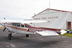 Challis, Idaho Middle Fork Salmon River Spring Planes