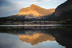 Many Glacier Lodge Glacier Park Summer Lodges
