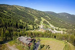 281 Northern Lights Home For Sale Big Mountain Summer Aerial