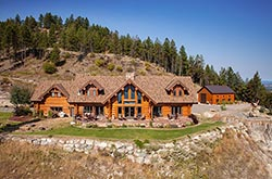 457 Coyote Ridge, Somers, Montana Somers, MT Summer Aerial