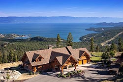 Room with a view Coyote Ridge Home For Sale Somers, MT Summer Aerial