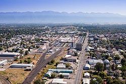 Kalispell Center Mall Kalispell, MT Summer Aerial