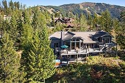 191 Ridge Run, Big Mountain, Montana Big Mountain Summer Aerial