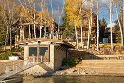 1488 Barkley Lane Whitefish Lake, MT Fall Aerial