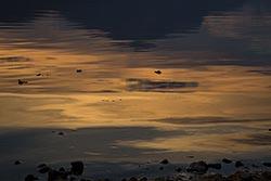 Reflection on Lake McDonald Lake McDonald Fall Landscape
