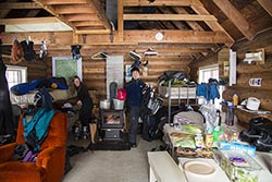 Loading up for a ski Nikko Cabin, MT Winter Cabins