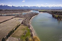 403 Wagner Lane, Kalispell, Montana Kalispell, MT Spring Aerial