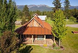 Broken Leg Ranch For Sale, Bigfork, Montana BigFork, MT Summer Aerial