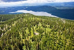 Big Mountain Property For Sale, Whitefish Mountain Resort Big Mountain Summer Aerial