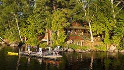 Coccia Pines, Tupper Lake, New York Tupper Lake, NY Summer Aerial