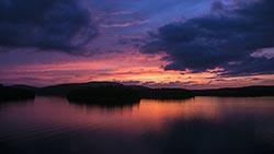 Adirondack Sunset, Tupper lake, NY Tupper Lake, NY Summer Aerial