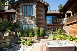 Spencer Ridge Montana Home For Sale Whitefish, MT Summer Aerial