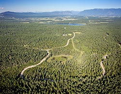 Whitefish Hills, Montana Land For Sale Whitefish, MT Summer Aerial