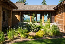 1263 Spencer Ridge Road, Whitefish, Montana Home For Sale Whitefish, MT Summer Aerial