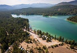 Lake Five Resort Lake Five Summer Aerial